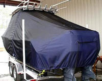Photo of Grady White Freedom 275 20xx T-Top Boat-Cover, viewed from Port, Rear
