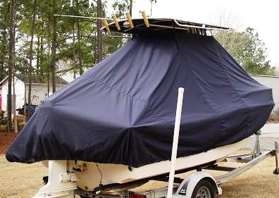 Grady White Sportsman 180, 19xx, TTopCovers™ T-Top boat cover rear