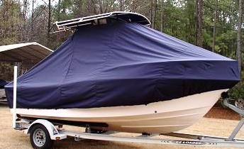 Grady White Sportsman 180, 19xx, TTopCovers™ T-Top boat cover side