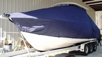 TTopCover™ Grady White, Turnament 275, 20xx, T-Top Boat Cover, port front
