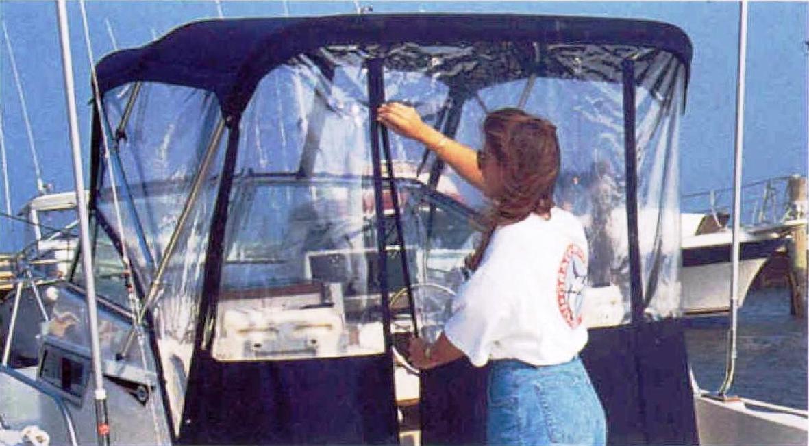 Bimini Aft Drop Curtain OEM G1™Factory Original Equipment