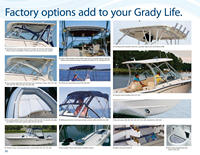 Photo of Grady White all Boats, 2011: Factory Options Page from Catalog