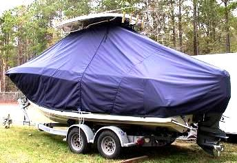 Hydrasports 2200CC, 19xx, TTopCovers™ T-Top boat cover, port rear