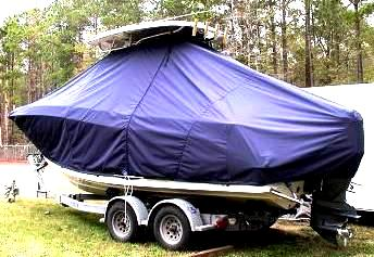 Hydrasports 2200VX, 20xx, TTopCovers™ T-Top boat cover, port rear