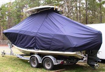 Hydrasports 2200, 20xx, TTopCovers™ T-Top boat cover, port rear