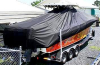 TTopCovers™ Hydrasports, 3400CC, 20xx, T-Top Boat Cover, stbd rear