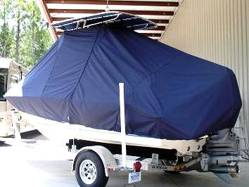 Key West 186CC, 20xx, TTopCovers™ T-Top boat cover Rear 380