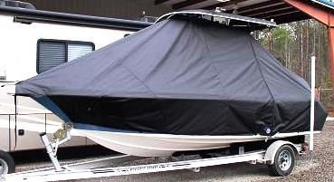 Key West, 2020CC, 20xx, TTopCovers™ T-Top boat cover, port side