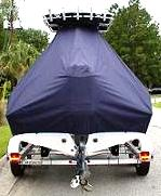 Key West, 203FS, 20xx, TTopCovers™ T-Top boat cover rear
