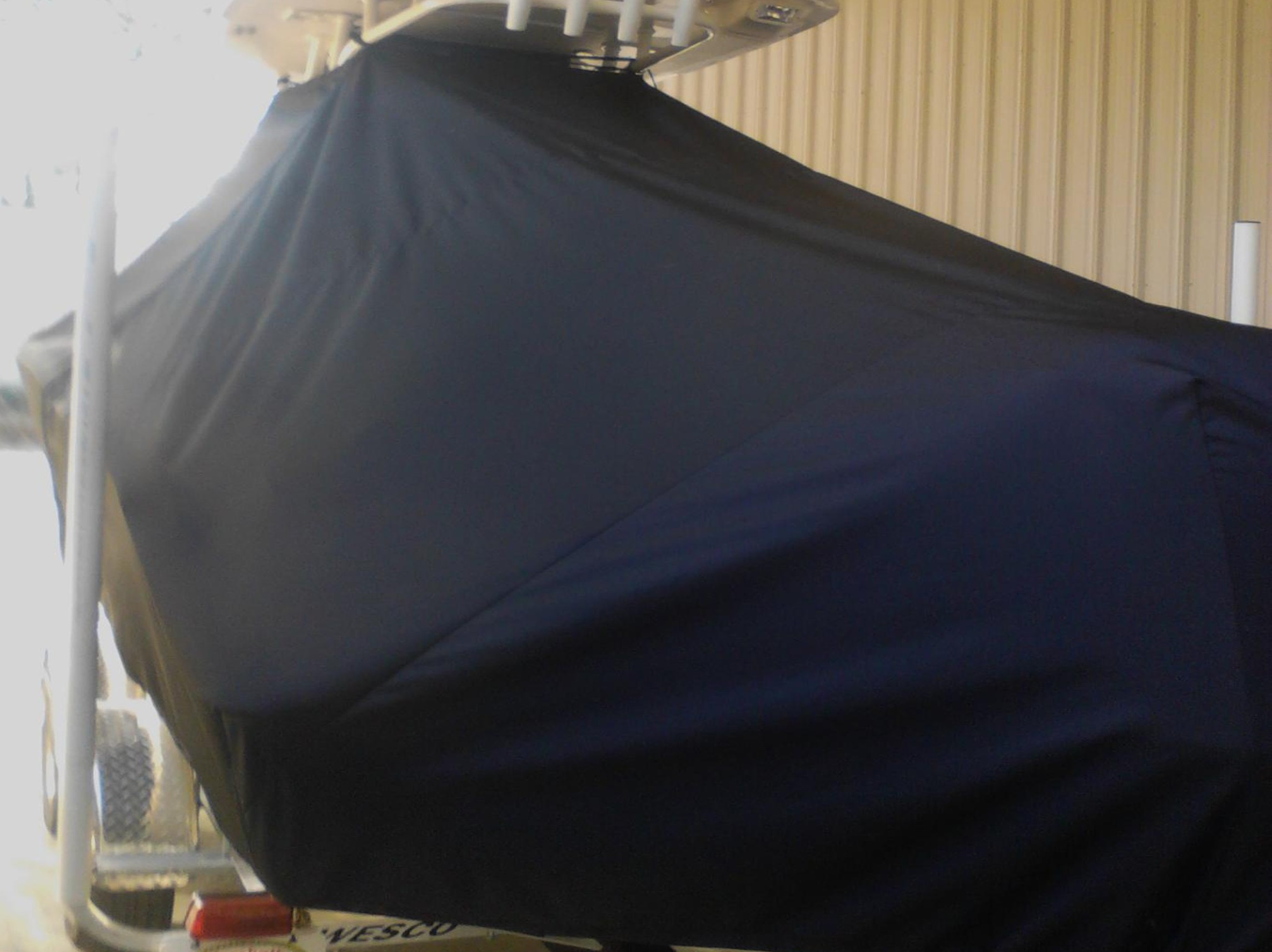 Key West 239FS, 20xx, TTopCovers™ T-Top boat cover, port rear