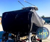 TTopCover™ Key West, 351 Billistic, 20xx, T-Top Boat Cover, rear