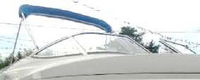 Larson, Senza 206, 2008, Bimini Top in Boot, stbd front
