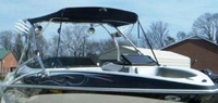 Larson, Senza 226 Tower, 2009, Bimini Top, stbd front
