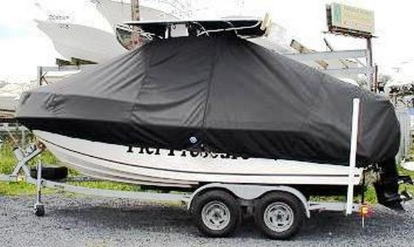 Mako, 192CC, 19xx, TTopCovers™ T-Top boat cover, port side