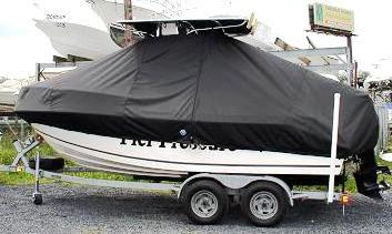 Mako, 192CC, 20xx, TTopCovers™ T-Top boat cover, port side