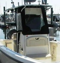 Photo of Mako 234CC, 2007: Factory T-Top, Front Spray Visor, Front