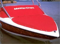 MasterCraft, X9 Factory ZeroFlex Flyer Tower, 2002, Bow and Cockpit Cover, stbd front