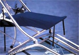 Bimini Top Canvas NO Zippers Factory OEM For MasterCraftR 230