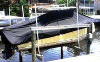 T-Top Boat Cover Custom Fitted to McKee Craft® Freedom 24