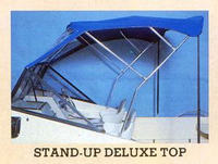 1988 McKee Craft® with Stand-Up Deluxe Bimini Top and Spray-Shield