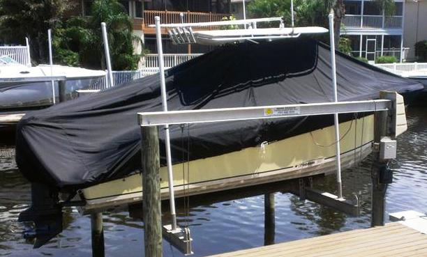 McKee 24 Freedom, 2004, TTopCovers™ T-Top boat cover