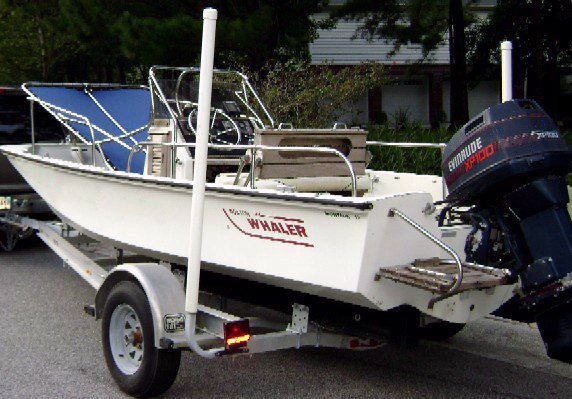 Montauk-T-Topless™ Lowered on Boston Whaler® Montauk™ 17 Picture