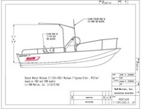 Montauk-Shadow™NEW 2020 MONTAUK-T-TOPLESS-2(tm) (MT2(tm)) patent-pending, stainless steel, folding T-Top for Boston Whaler(r) Montauk(tm), Outrage(tm) and Dauntless(tm) boats, replaces Montauk-Shadow(tm)
