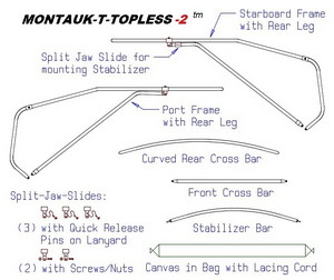 Montauk-T-Topless (MT2) Parts