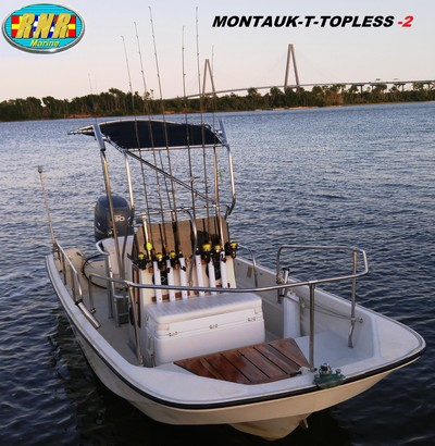 Montauk-T-Topless (MT2) viewed from port bow