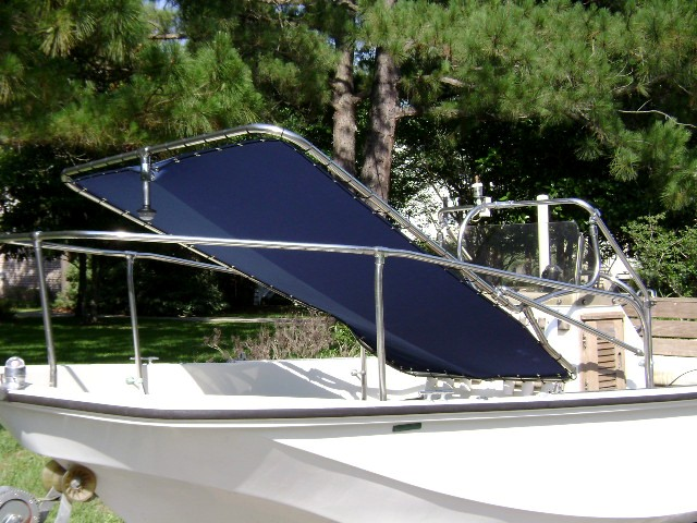 Montauk T Topless Rotated Forward Port Front