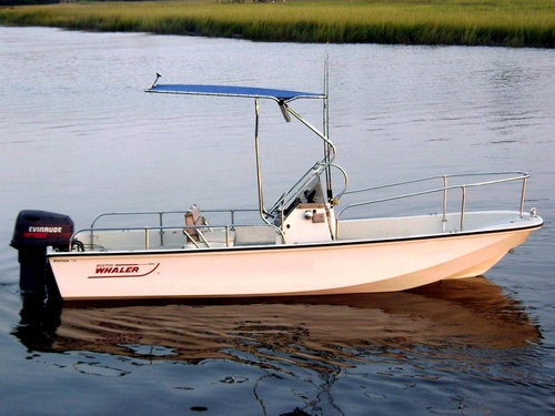 Picture of Montauk-T-Topless™ on 1982 Boston Whaler® Montauk™ 17
