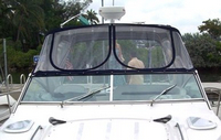 Monterey, 350 Sport Yacht, 2006, Bimini Top, Front Connector, front
