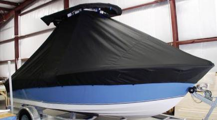 NauticStar, 1900 Nautic Bay, 20xx, TTopCovers™ T-Top boat cover, starboard front