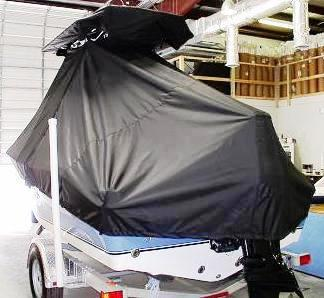NauticStar, 1900 Offshore Sport, 20xx, TTopCovers™ T-Top boat cover rear