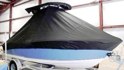 NauticStar, 1900 Offshore Sport, 20xx, TTopCovers™ T-Top boat cover side