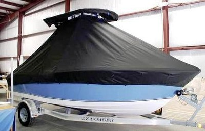 NauticStar, 19XS, 20xx, TTopCovers™ T-Top boat cover side