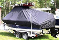 Photo of NauticStar, 2000: Offshore Sport 20xx T-Top Boat-Cover, viewed from Port, Rear