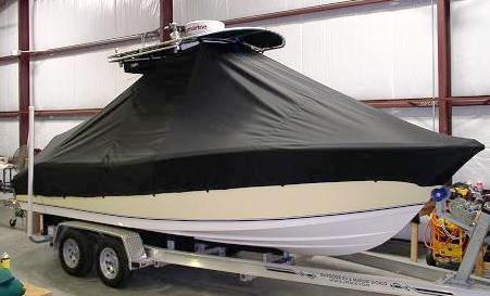 NauticStar 2200 Offshore, 20xx, TTopCovers™ T-Top boat cover 399 front