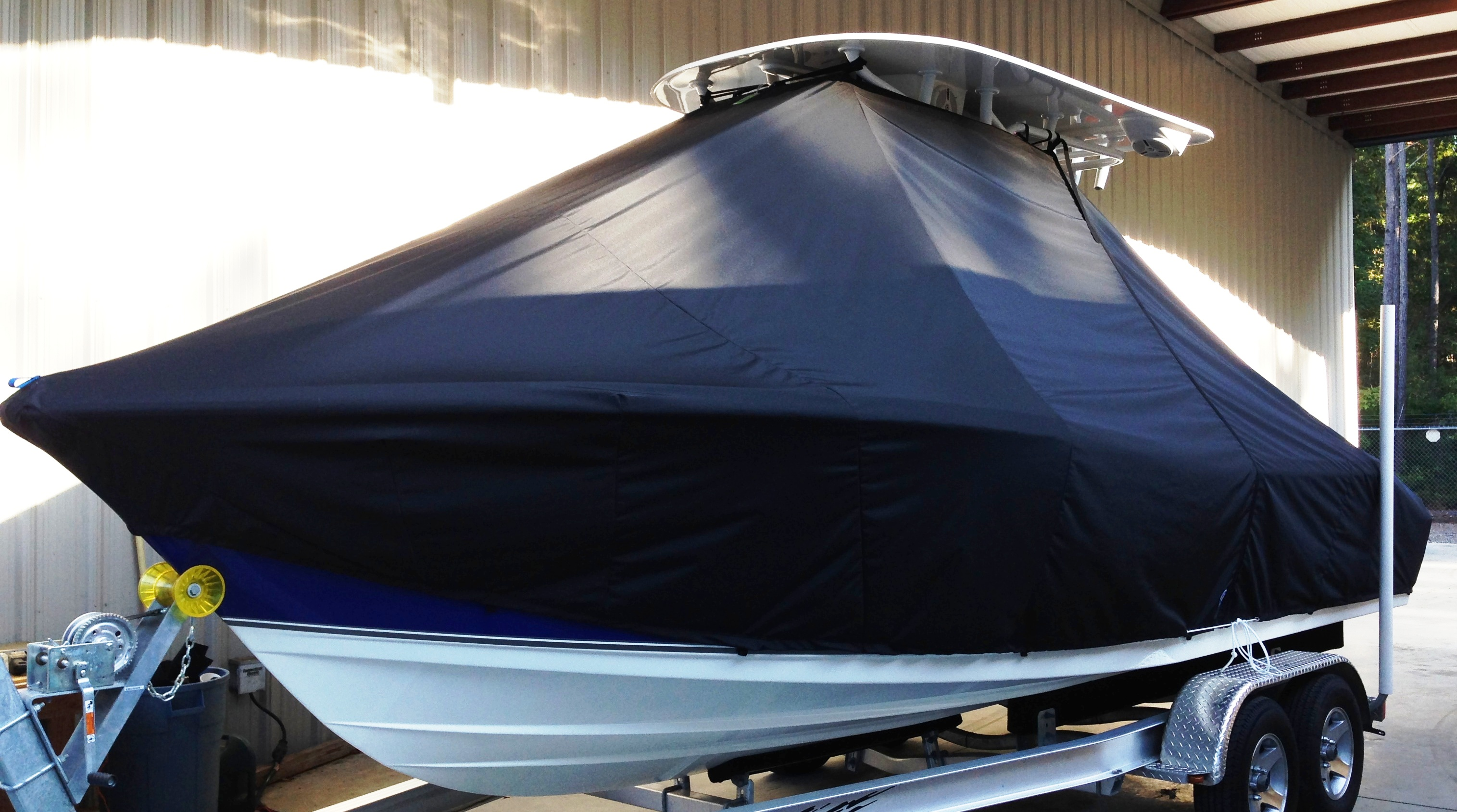 NauticStar 22XS, 20xx, TTopCovers™ T-Top boat cover, port front