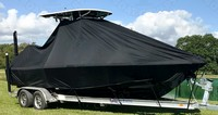 TTopCover™ NauticStar, 244 XTS, 20xx, T-Top Boat Cover, stbd front