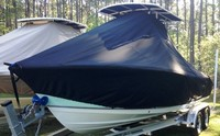 TTopCovers™ Nauticstar, 2302 Legacy, 20xx, T-Top Boat Cover, port front