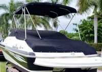 Nauticstar, 232DC Sport Deck IO, 2009, Bimini Top, Cockpit Cover, port rear