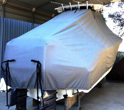 Nauticstar 25XS, 20xx, TTopCovers™ T-Top boat cover, starboard rear