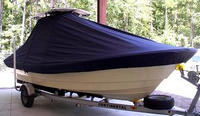 TTopCover™ Panga, 22 Boca Grande, 20xx, T-Top Boat Cover, stbd front
