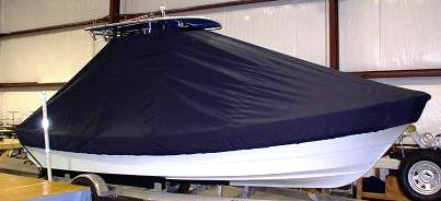 Panga 22LX, 20xx, TTopCovers™ T-Top boat cover, starboard side
