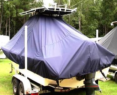 Parker 23SE, 20xx, TTopCovers™ T-Top boat cover, port rear