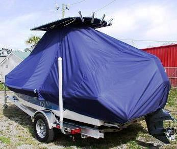 Pathfinder, 2000, 20xx, TTopCovers™ T-Top boat cover, port rear