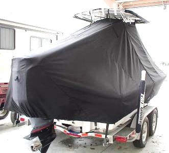 Pathfinder 2200, 20xx, TTopCovers™ T-Top boat cover, starboard rear