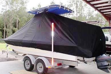 Pathfinder 2400 TRS, 19xx, TTopCovers™ T-Top boat cover, port rear
