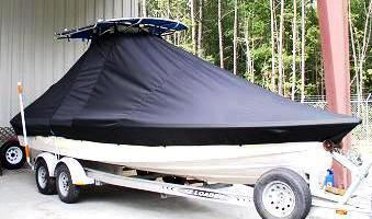Pathfinder 2400 TRS, 19xx, TTopCovers™ T-Top boat cover, starboard front